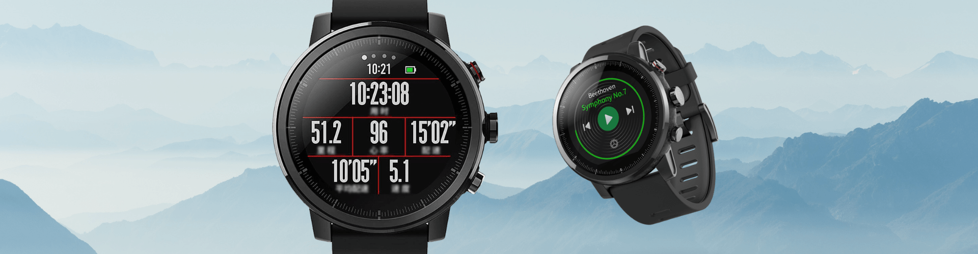 Características de Amazfit Stratos 2 SmartWatch Sports con GPS PPG Heart Rate Monitor