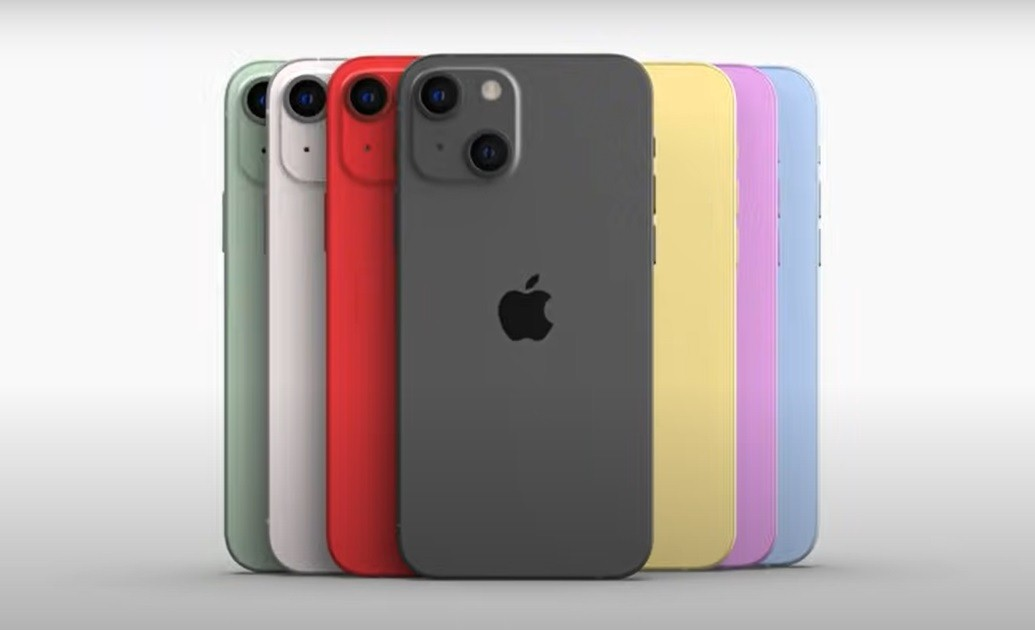 Colores iPhone 13