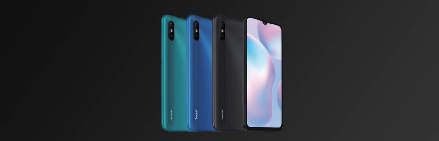 gama de colores xiaomi redmi 9AT